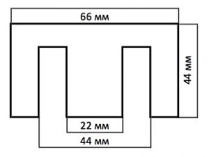 Lukey 852D+FAN размеры трансформаторных пластин