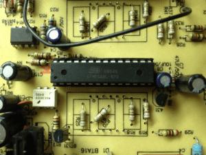 Lukey 852D+FAN плата управления - ATMEGA8L-8PU