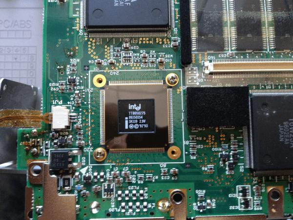 Ноутбук Toshiba Satellit 100CS TT8050275 (SK119) процессор Тошиба Сателлит 100