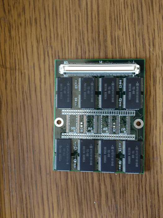 Notebook Toshiba Satellit 100CS RAM Crucial CT32MTSHLE.UNV оперативная память Тошиба Сателит 100