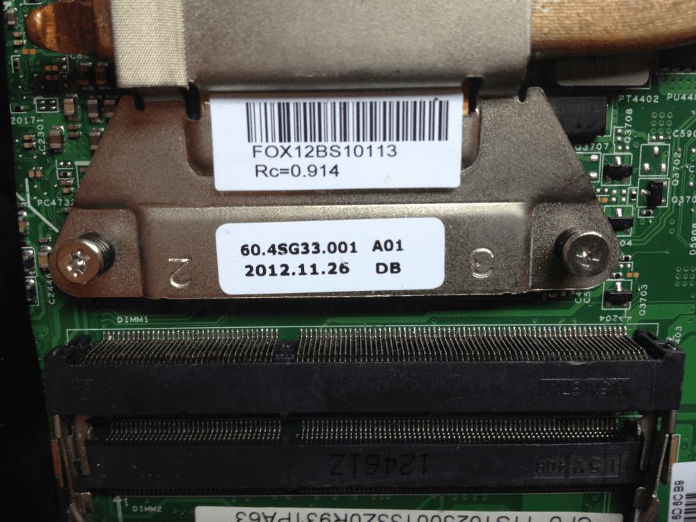 Ноутбук Леново G580 20157 добавление разъема ОЗУ Lenovo G580 RAM