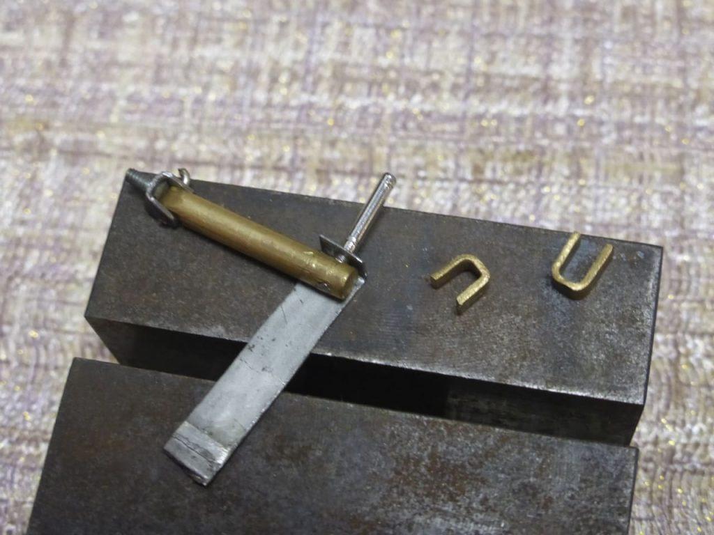 изготовление кронштейна для амортизатора задней подвески ваз 2108 в масштабе 1:24 rc-model