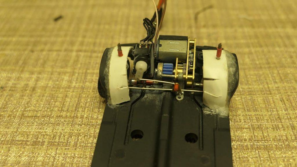 рулевой механизм RC-модели ваз 2108 рулевое управление своими руками