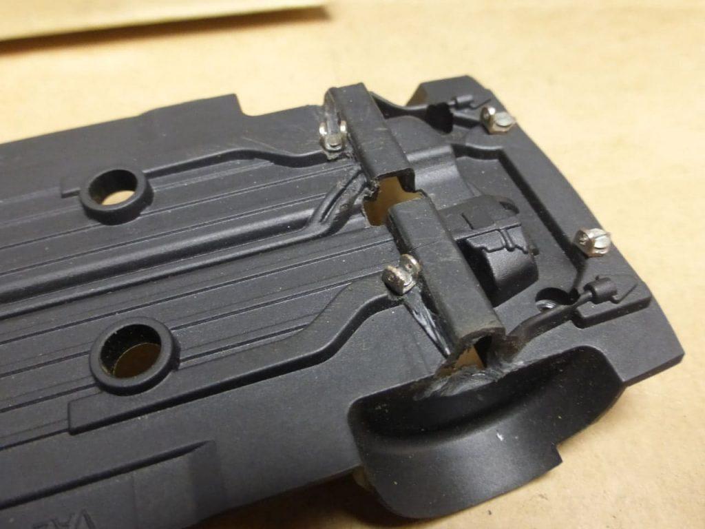 кронштейны рычагов передней подвески ВАЗ 2108 модель на радиоуправлении подвеска 1:24