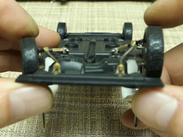 ход подвески ваз 2108 изготовление рабочей подвески для модели 1:24 RC
