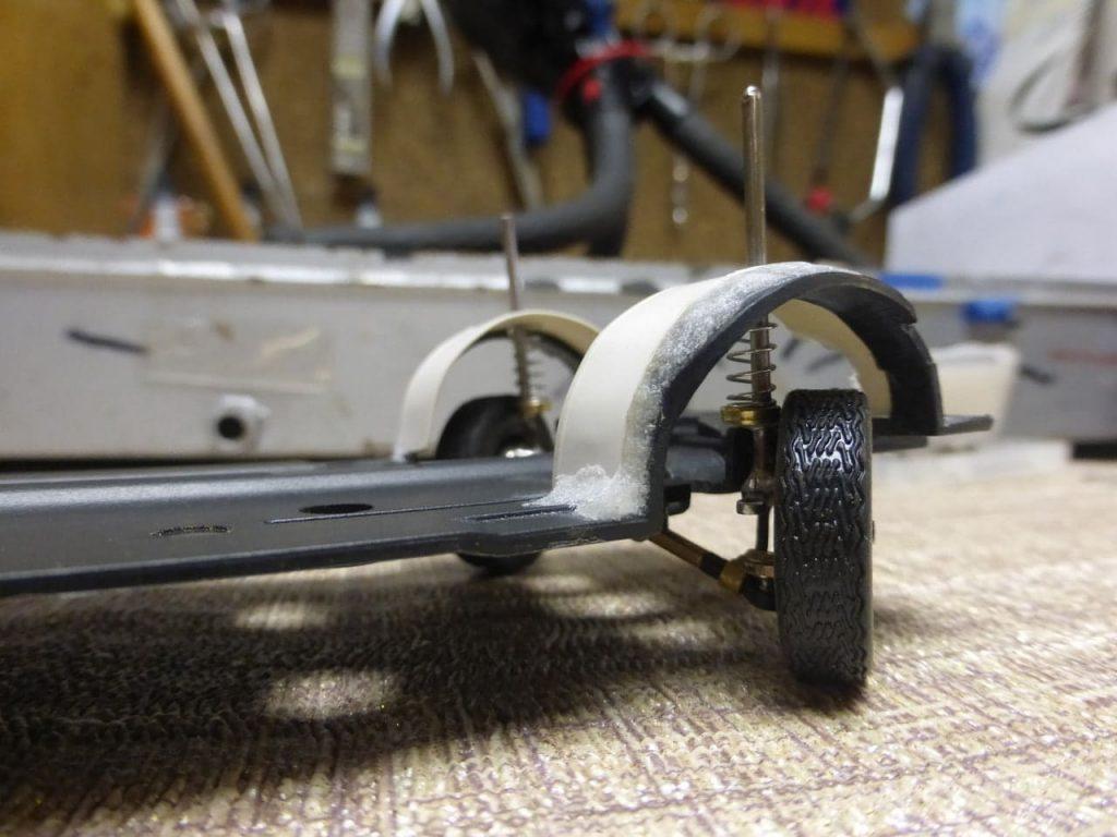 арки передних колес ваз-2108 переделка на радиоуправление модель в масштабе 1:24