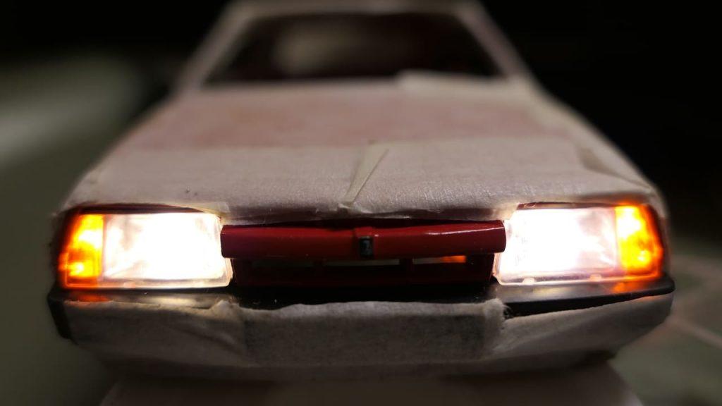рабочие фары ваз 2108 управление светом на радиоуправляемой модели rc-model vendor d1