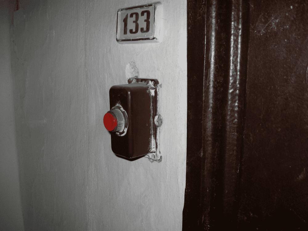 Суровый большой дверной звонок кнопка звонка инженерные приколы