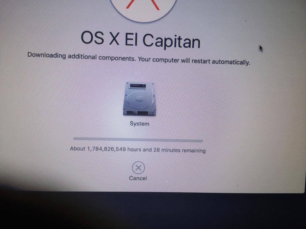 MacOS X Capitan install Установка макос капитан инженерные приколы