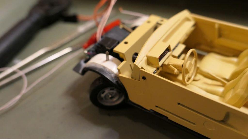 переделка рулевого для модели на радиоуправлении ваз 2108 руль поворачивается