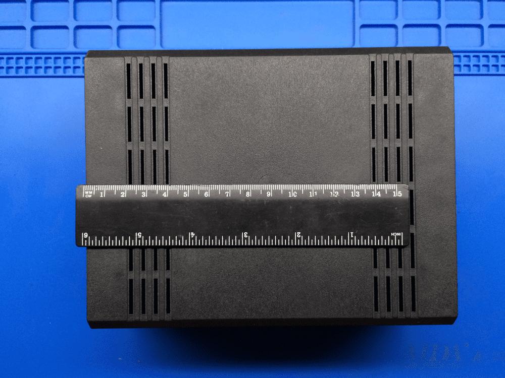 Размеры пластикового корпуса для TDA2030 усилитель тда2030