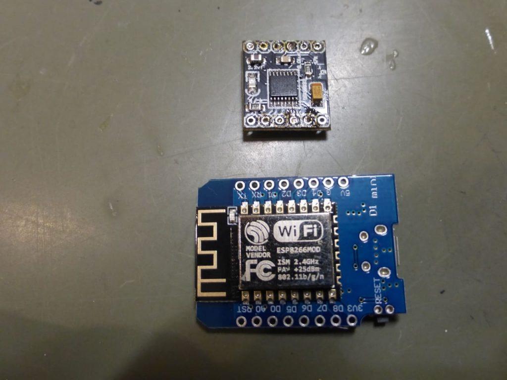 микроконтроллер Vendor D1 mini DRV8833 драйвер двигателя дистанционное управление по Wi-Fi для модели 1:24