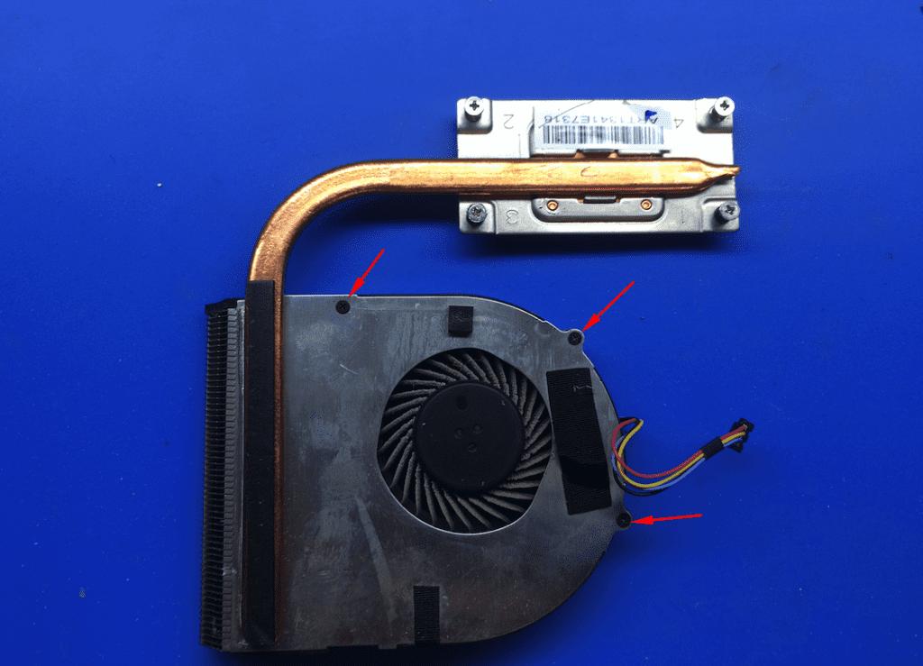 Система охлаждения ноутбука Lenovo B590 20206