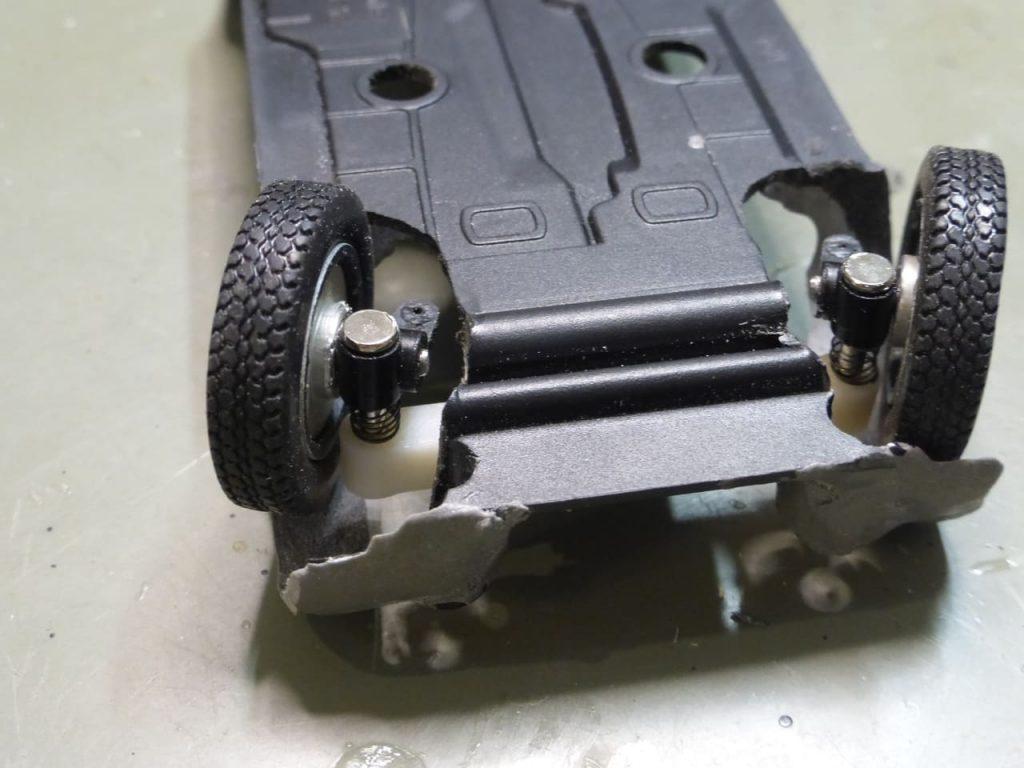 выворот передних колес запорожец горбатый заз 965 на радиоуправлении