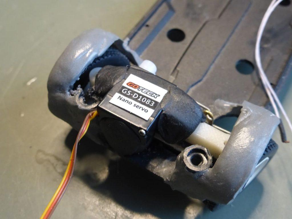 сервопривод рулевого запорожец на радиоуправлении заз 965 горбатый поворот передних колес