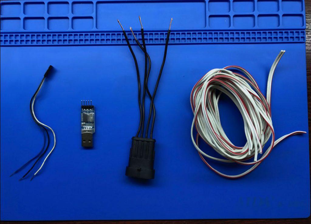 Набор для сборки кабеля для диагностики ГБО