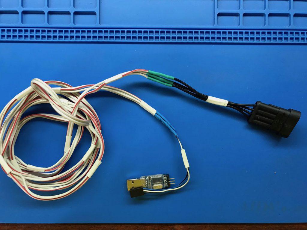 Диагностический кабель для ГБО своими руками