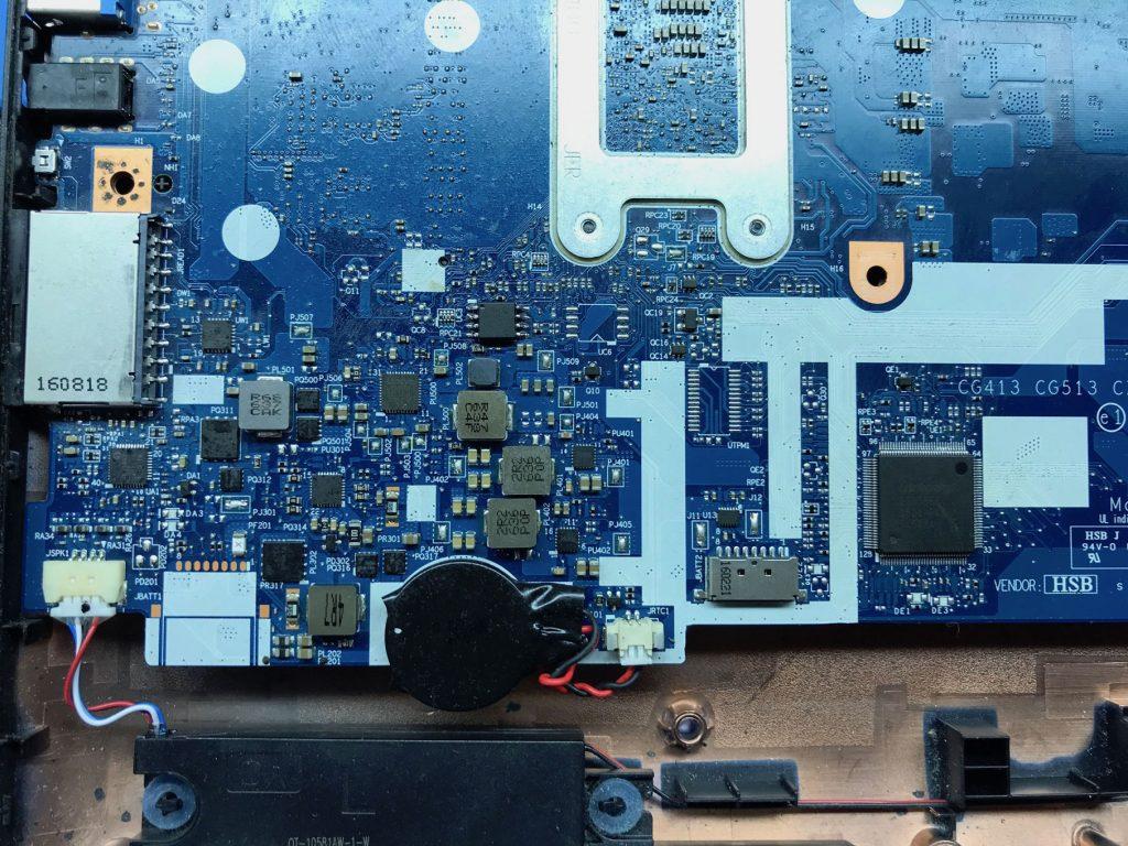 Плата CG413 CG513 NM-A981A Rev 1.0  стабилизатор напряжений и мульт