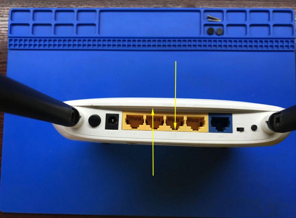 Разобрка корпуса маршрутизатора ТП-Линк 841 ревизии 8