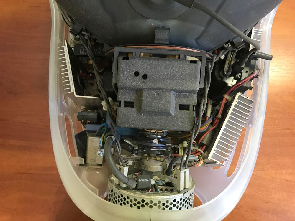 Устройство платы монитора IMac G3