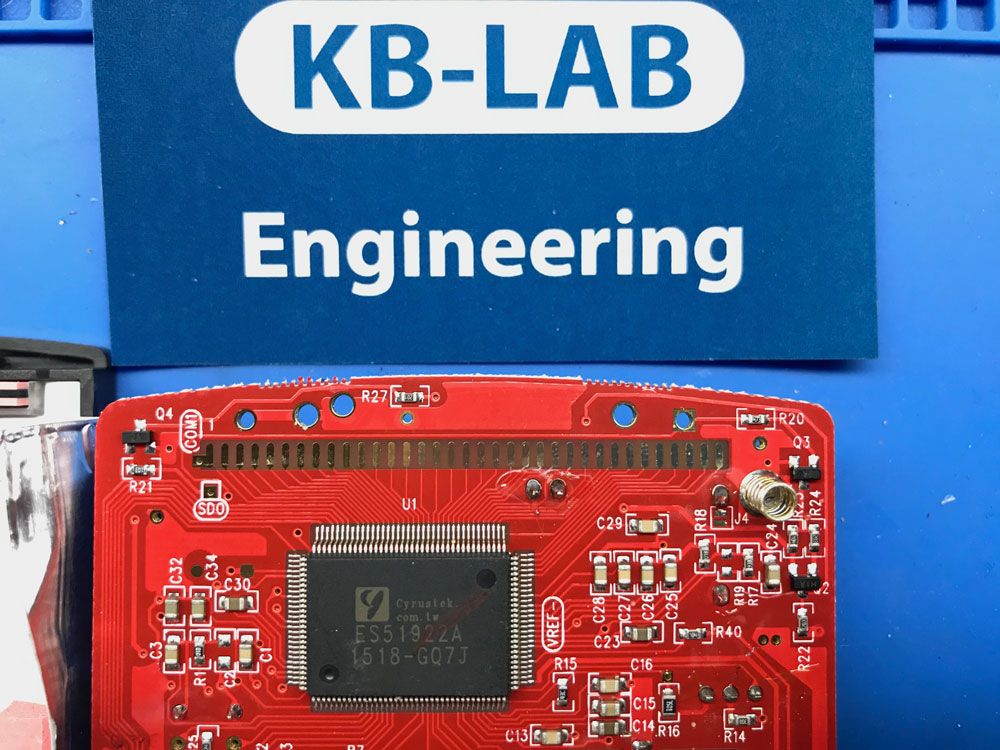 ES51922A процессор из прибора Uni-T UT-61E