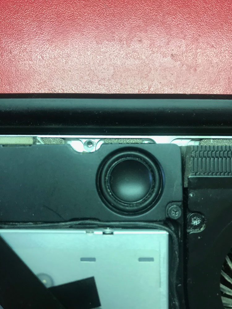 Отремонтированный динамик Macbook PRO 2011 2012 A1287 MD101 MD102