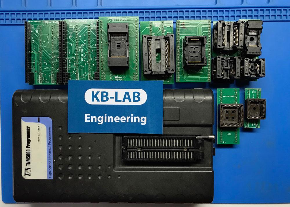 Программатор TNM 5000+ USB NAND c стандартными насадками и насадками под TSOP56