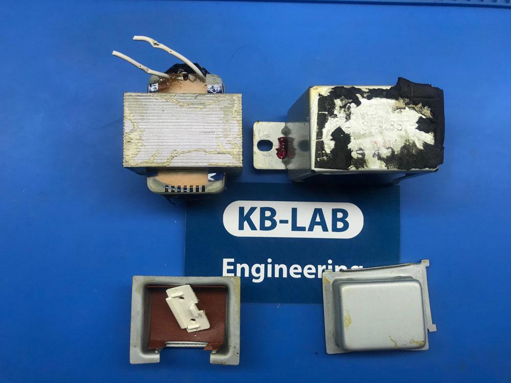 Трансформатор 3-9185T-1 от колонок Logitech S-0264B