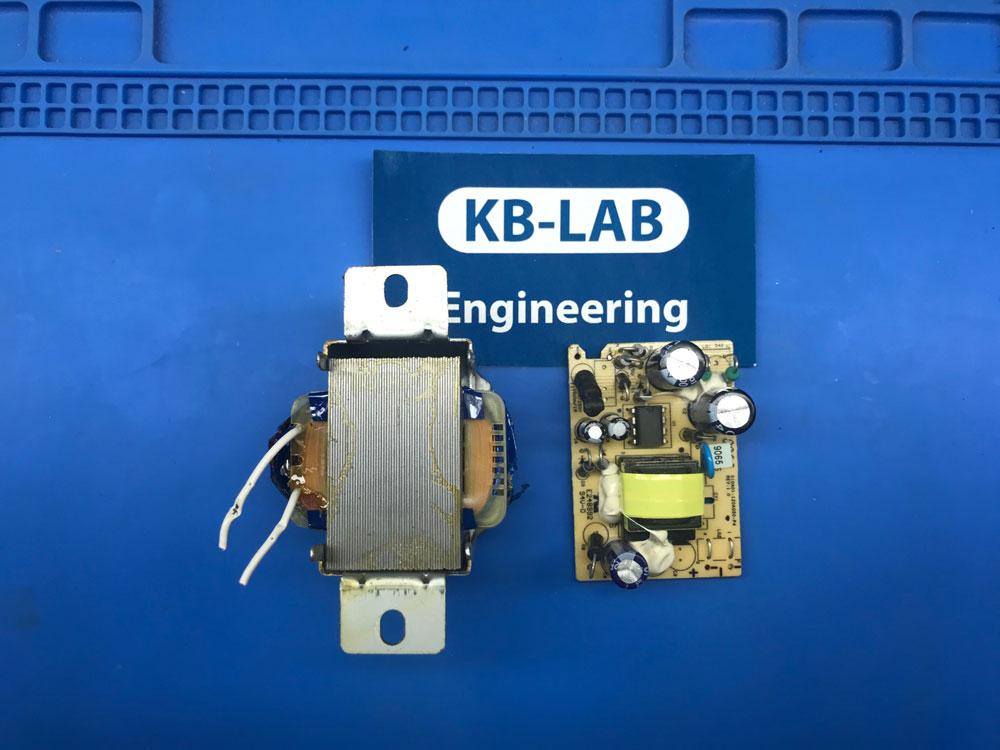 Импульсный трансформатор 12 вольт 0.5 ампера для замены родного трансформатора 3-9185T-1
