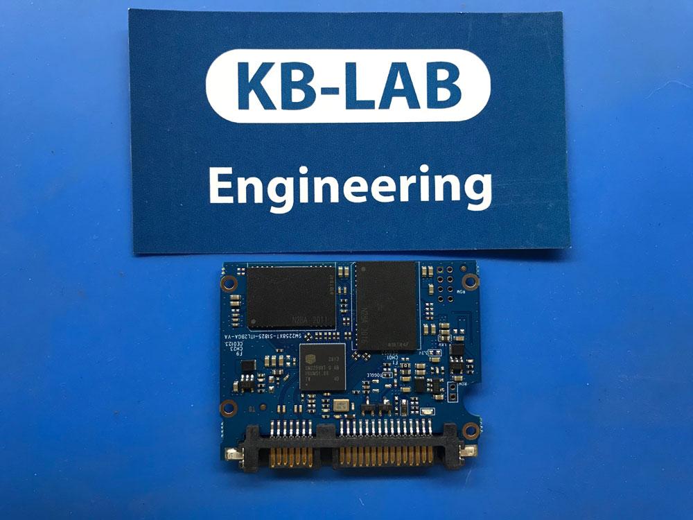 Плата SSD диска с контроллером SM2259TX