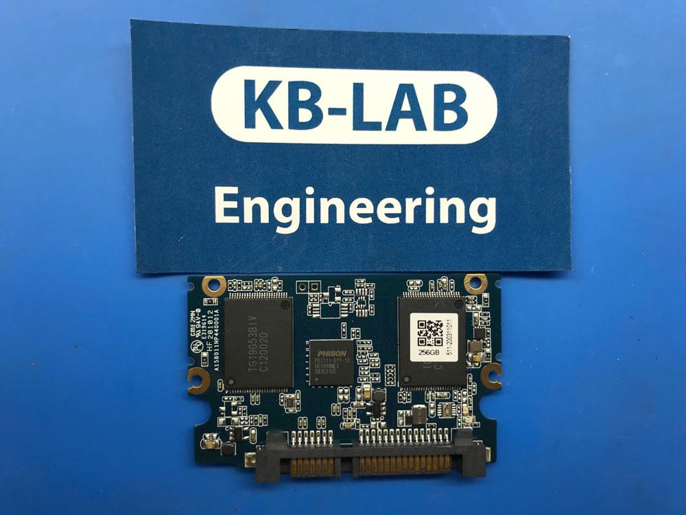 Плата от SSD диска Silicon Power A55 256Gb с контроллером PS3111-S11-13