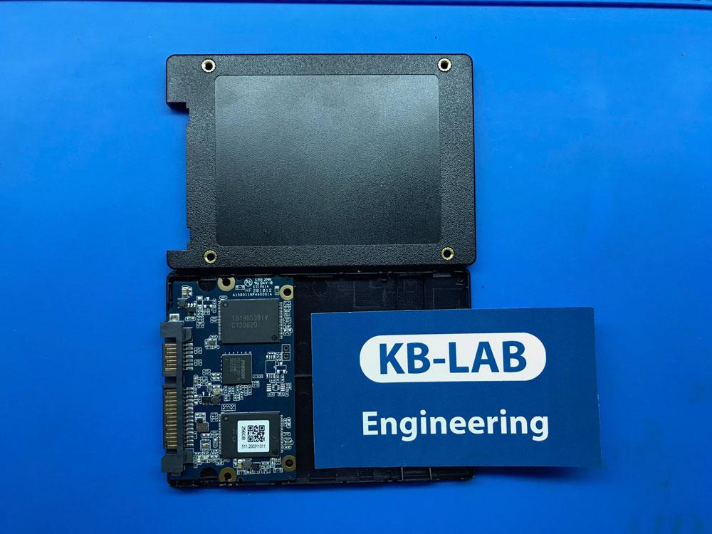 Silicon Power A55 256Gb в разборе