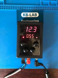 Работа зарядного устройства при стабилизации тока
