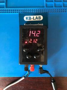 Работа зарядного устройства при стабилизации напряжения