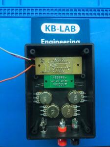 Вид изнутри зарядного устройства